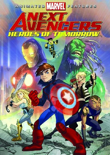 NEXT AVENGERS DVD (ANIMATED MOVIE)