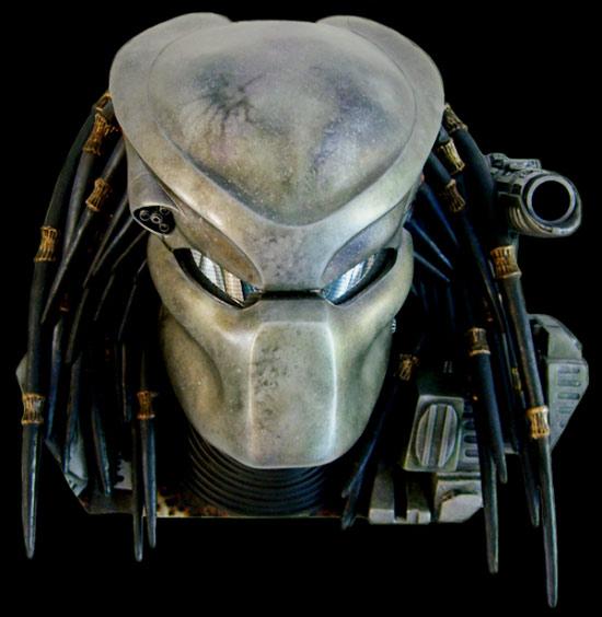 Predator Bio Helmet With Trophy Wall Mount Display
